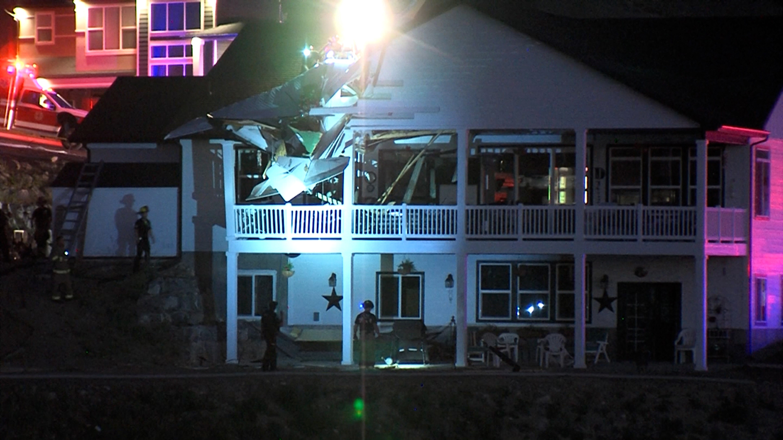 1 person is dead after a small plane crashed into a Utah home