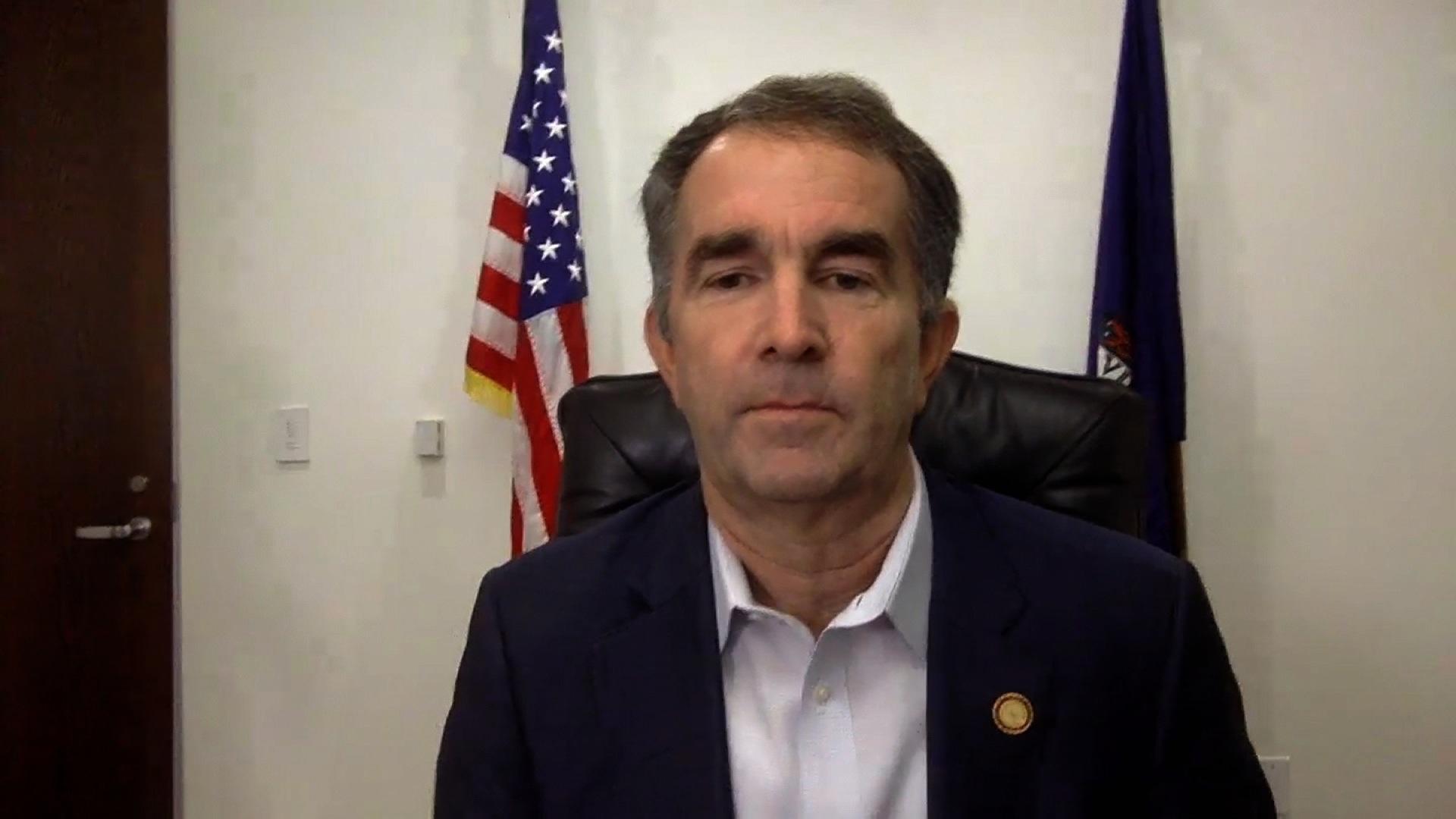 Virginia's governor signs legislation banning no-knock warrants