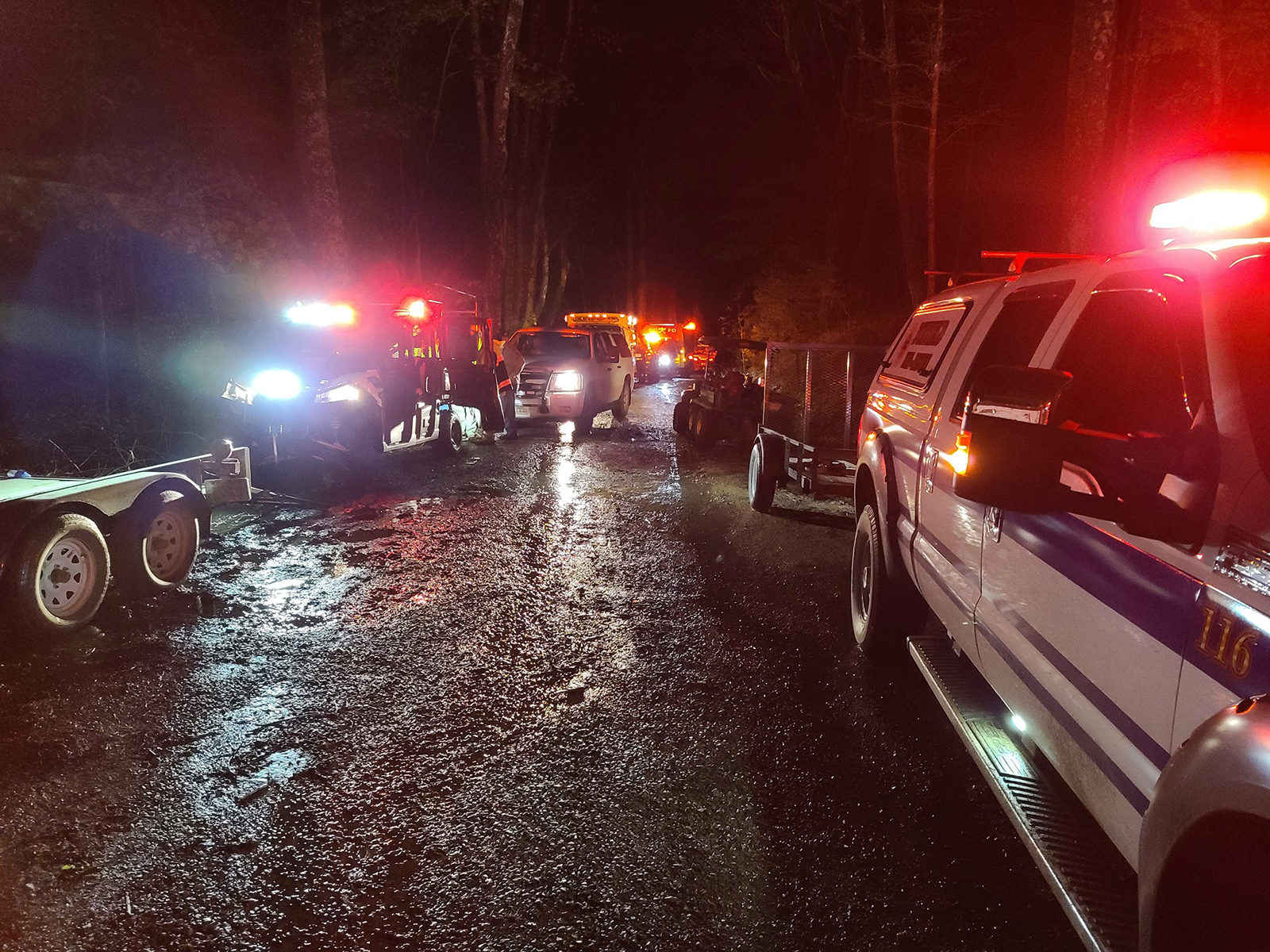 20 hikers are rescued from the Devil's Bathtub in Virginia after flash flooding