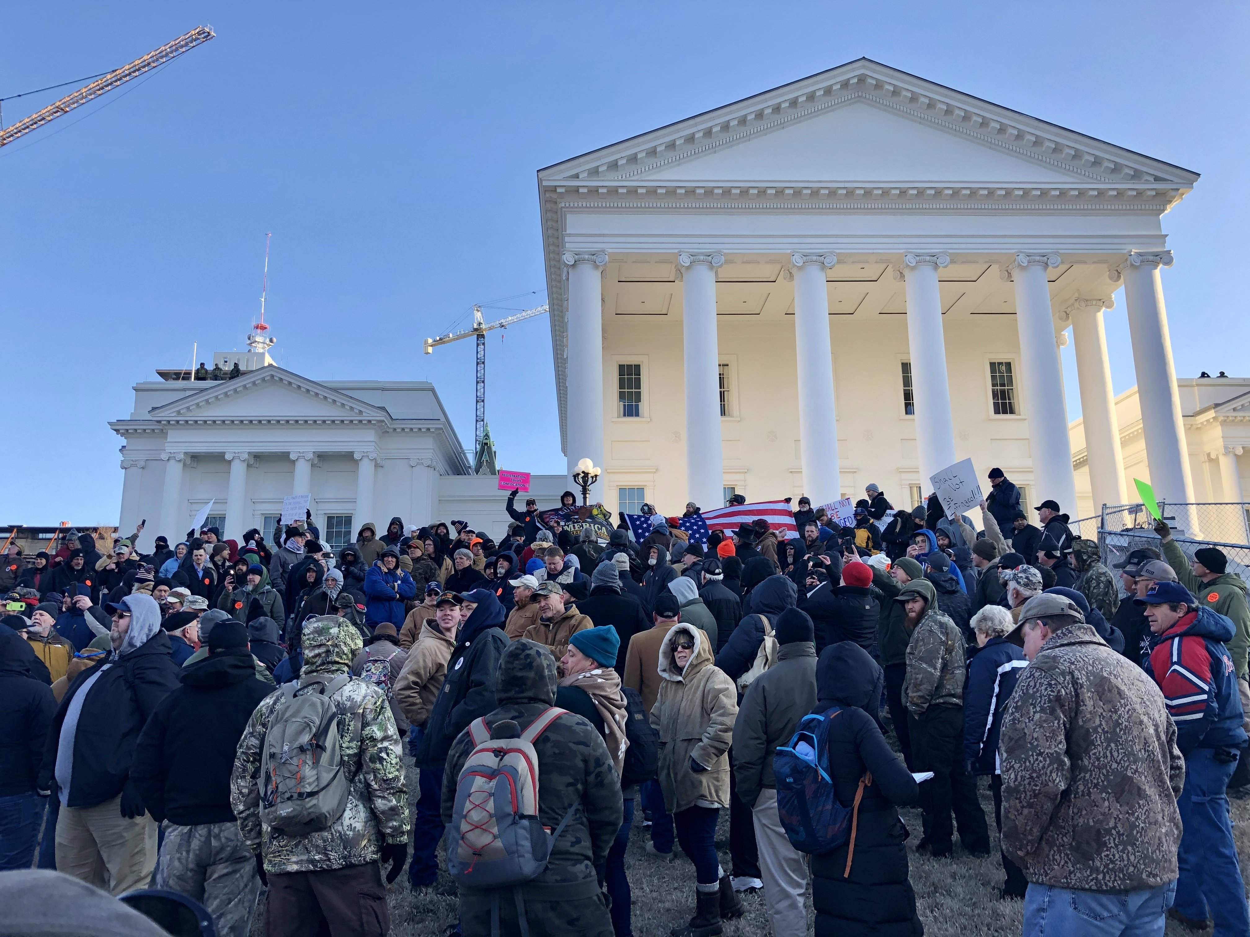Peaceful Virginia gun-rights rally concludes despite earlier fears of extremist violence