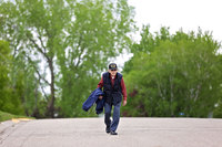 For his 100th birthday, a WWII veteran is walking 100 miles to raise money for coronavirus relief