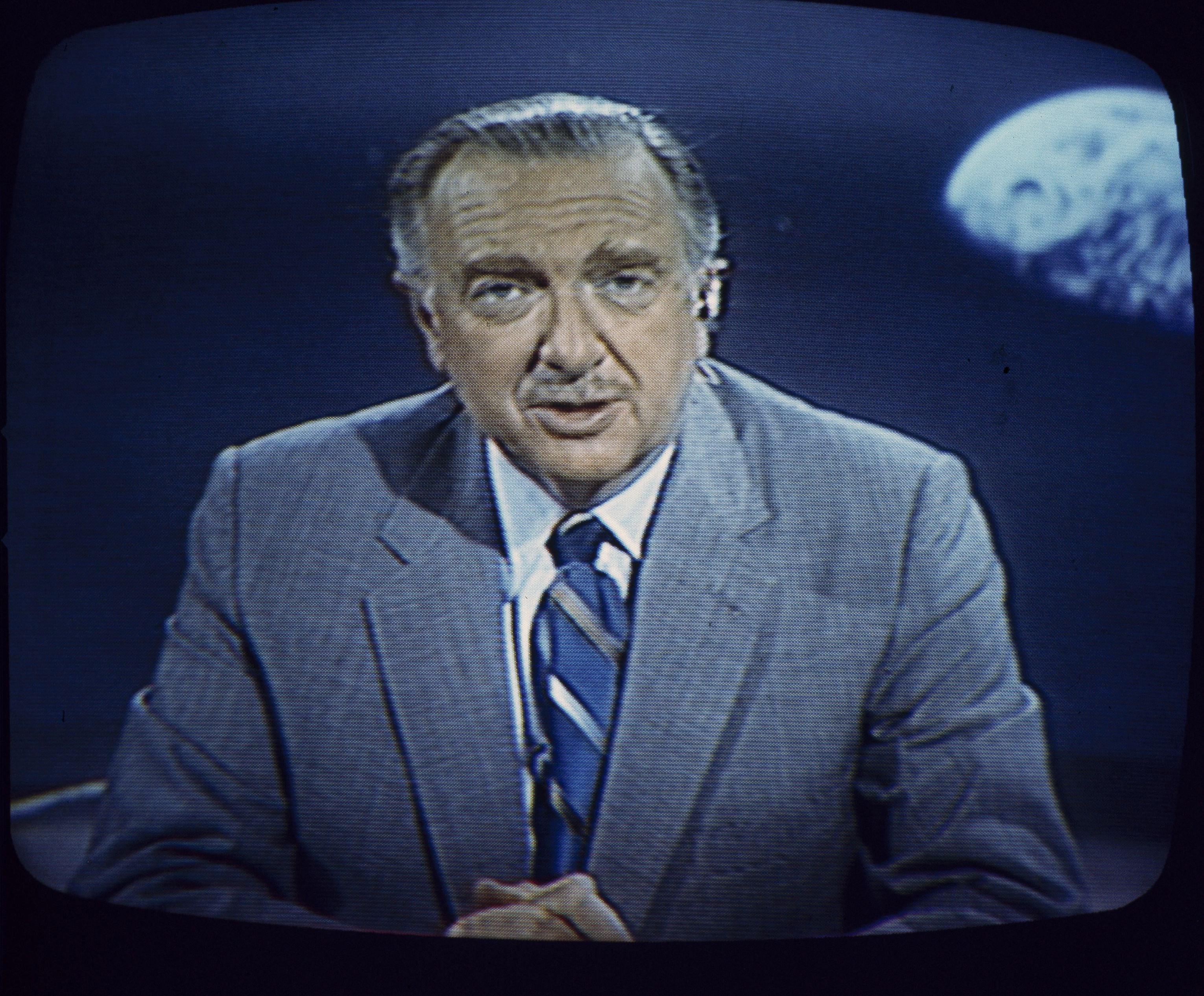 Remembering Walter Cronkite's words on the day of the Apollo 11 moon landing