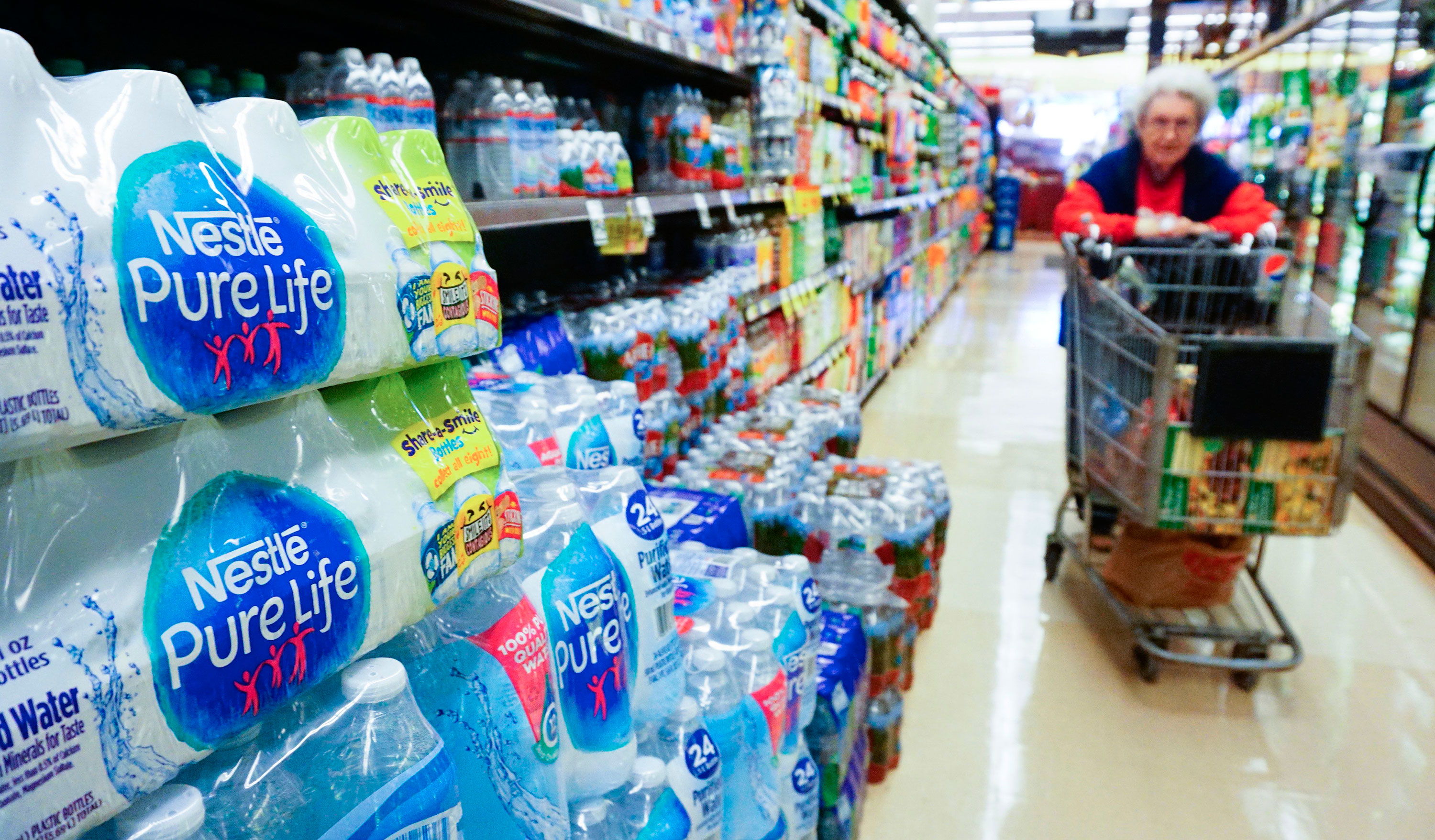 A Washington state proposal would stop bottled water companies from tapping natural water sources