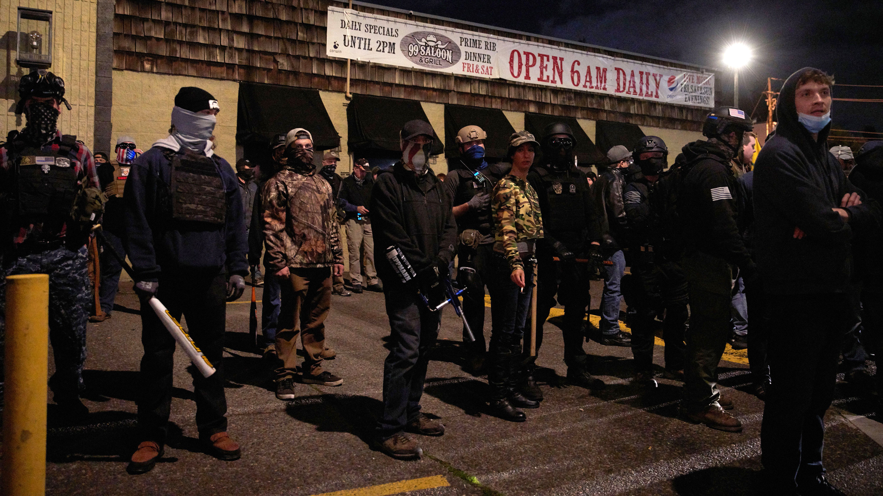 Seven arrested after vigil for Black man shot and killed by sheriffs in Washington state turns tense