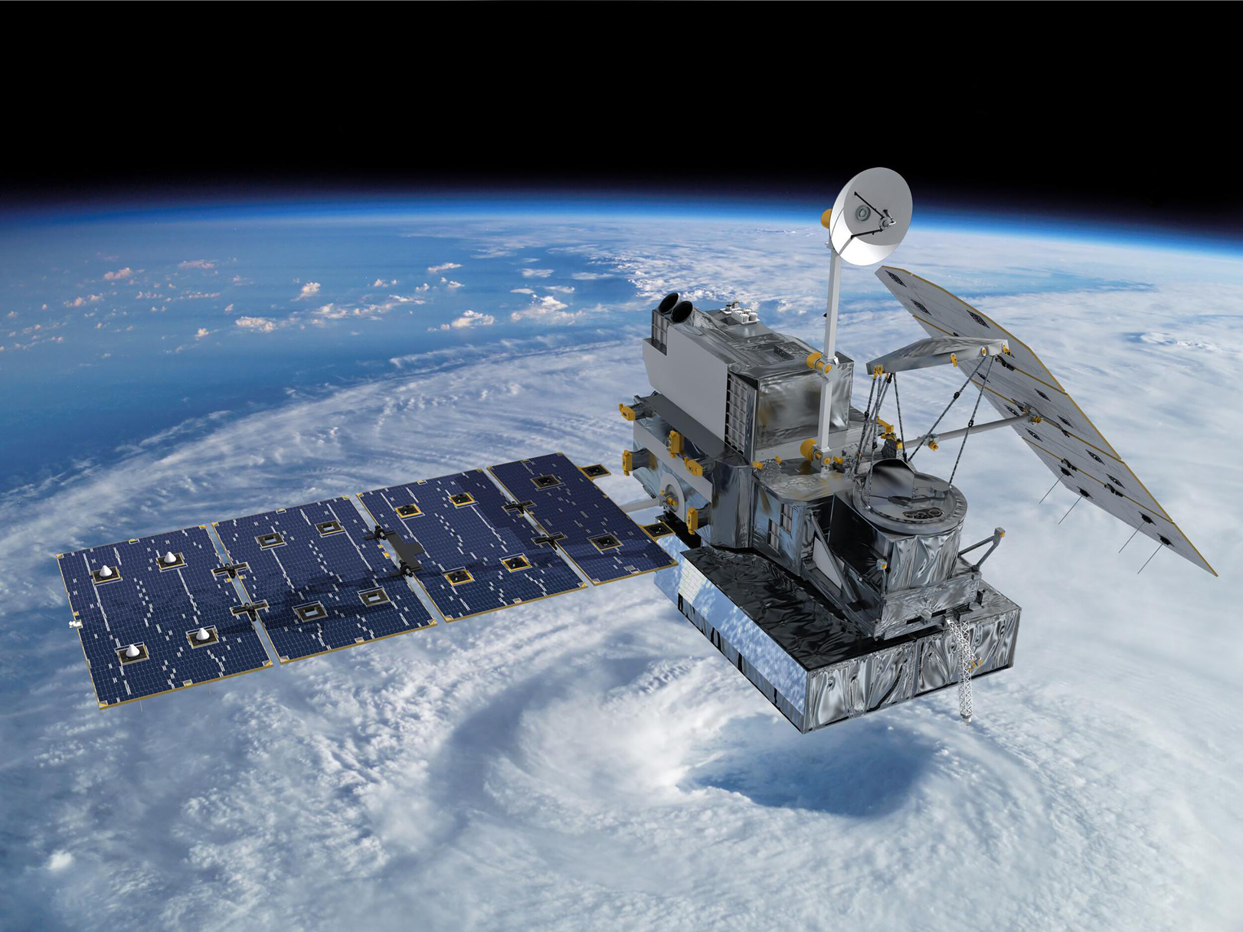 US inks $20 million deal to launch high-tech weather satellites in space