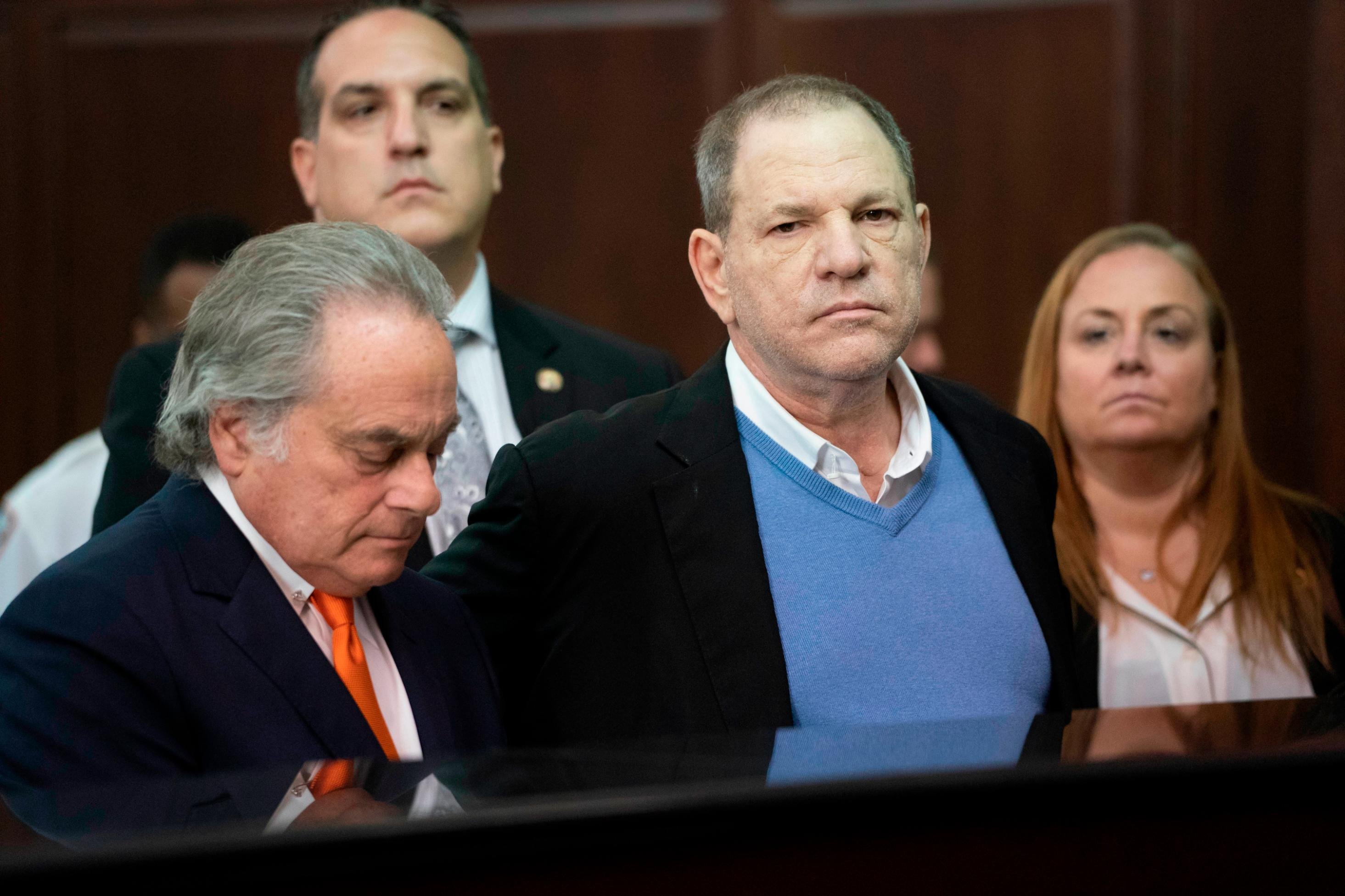 Weinstein's lawyer says his criminal trial is expected to take at least two months