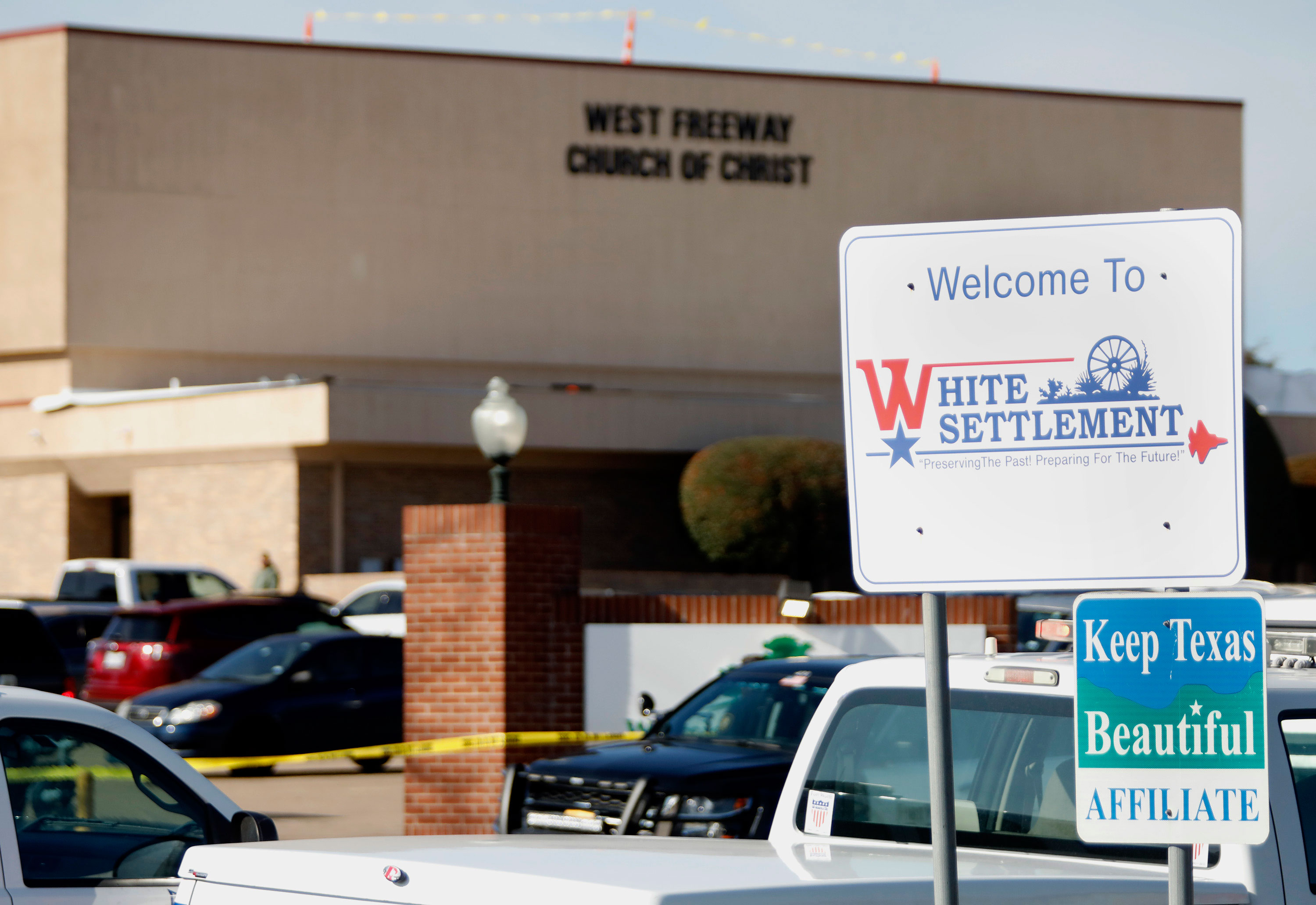 How White Settlement, the site of the deadly church shooting, got its name