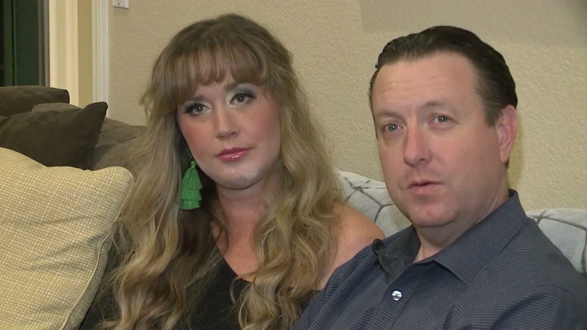 They matched on a dating site and got married. He needed a kidney, and they matched again