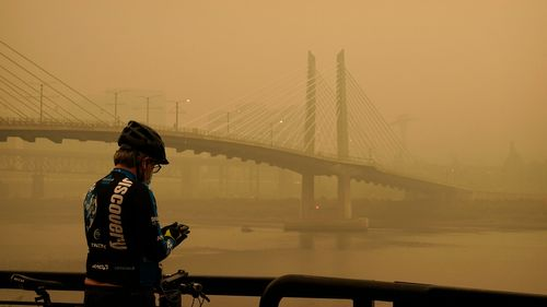 Image for The Western US has the worst air quality in the world, group says