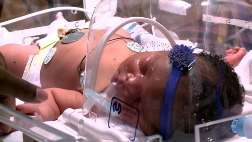 Image for A baby born at 9:11 p.m. on 9/11 weighed 9 pounds, 11 ounces