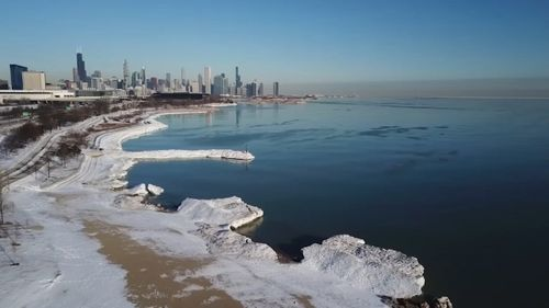 Image for  Chicago Lakefront reopens, along with playgrounds, indoor swimming as COVID metrics improve
