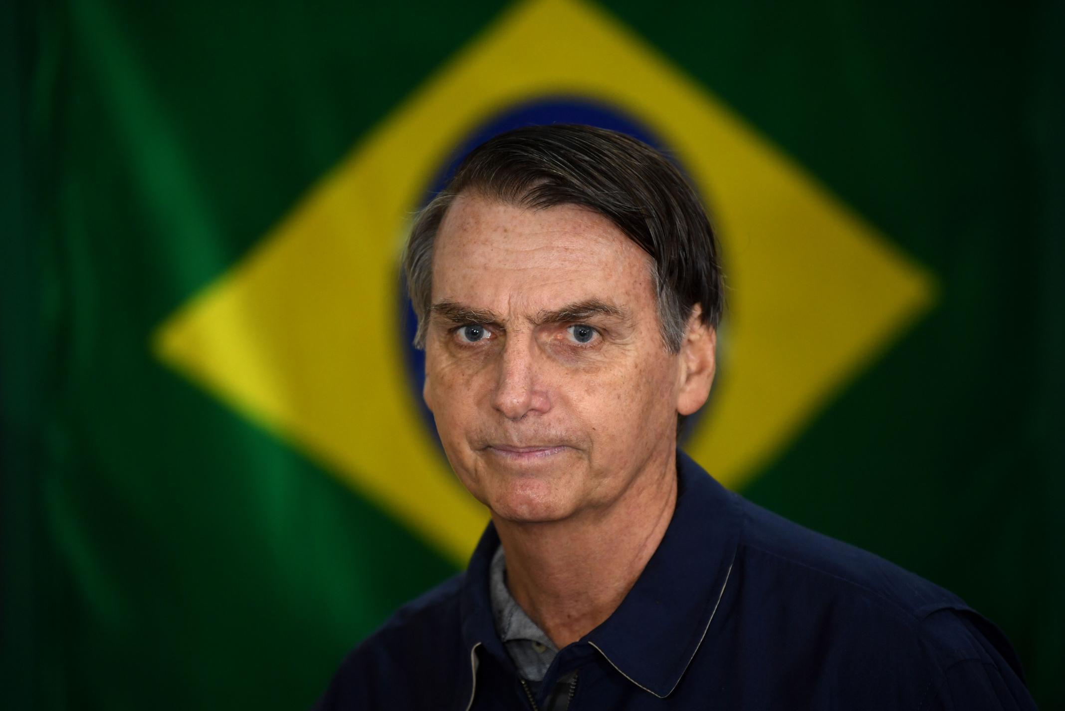 Brazilian President Jair Bolsonaro tells fans he had lung screening