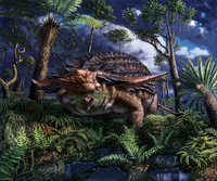 A dinosaur's last meal: A 110 million-year-old dinosaur's stomach contents are revealed