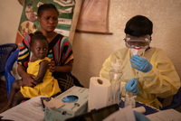 Amid looming coronavirus crisis, progress made in fight against Ebola