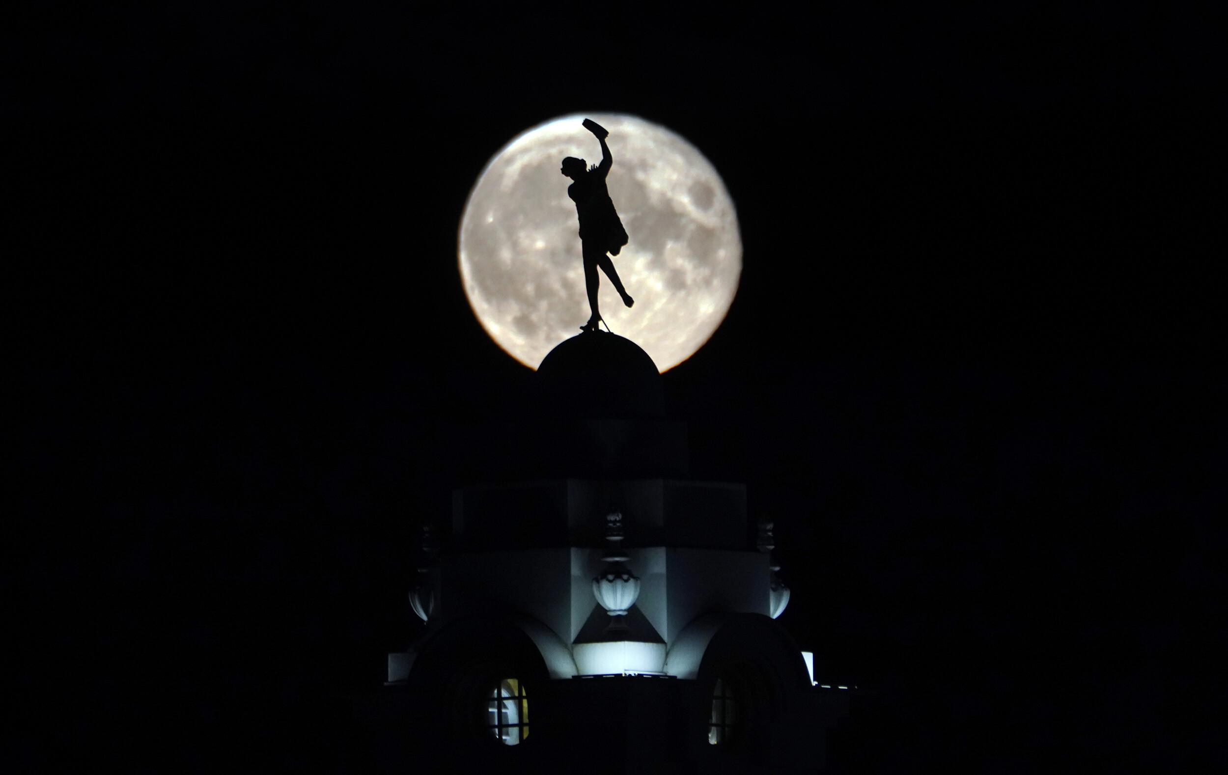 Watch the July full 'buck' moon illuminate the sky tonight