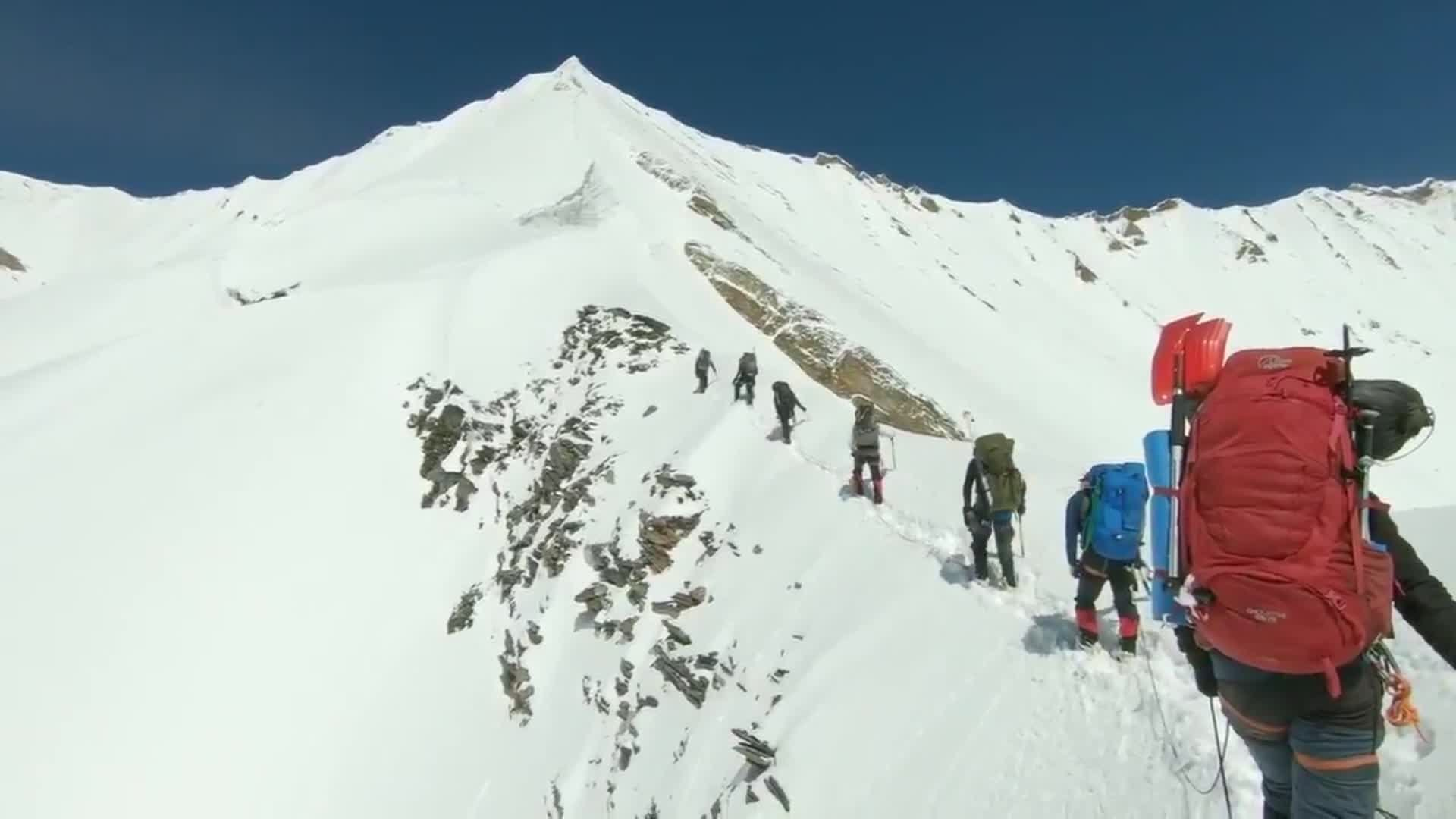 Recovered GoPro video shows final moments of Himalayas climbers