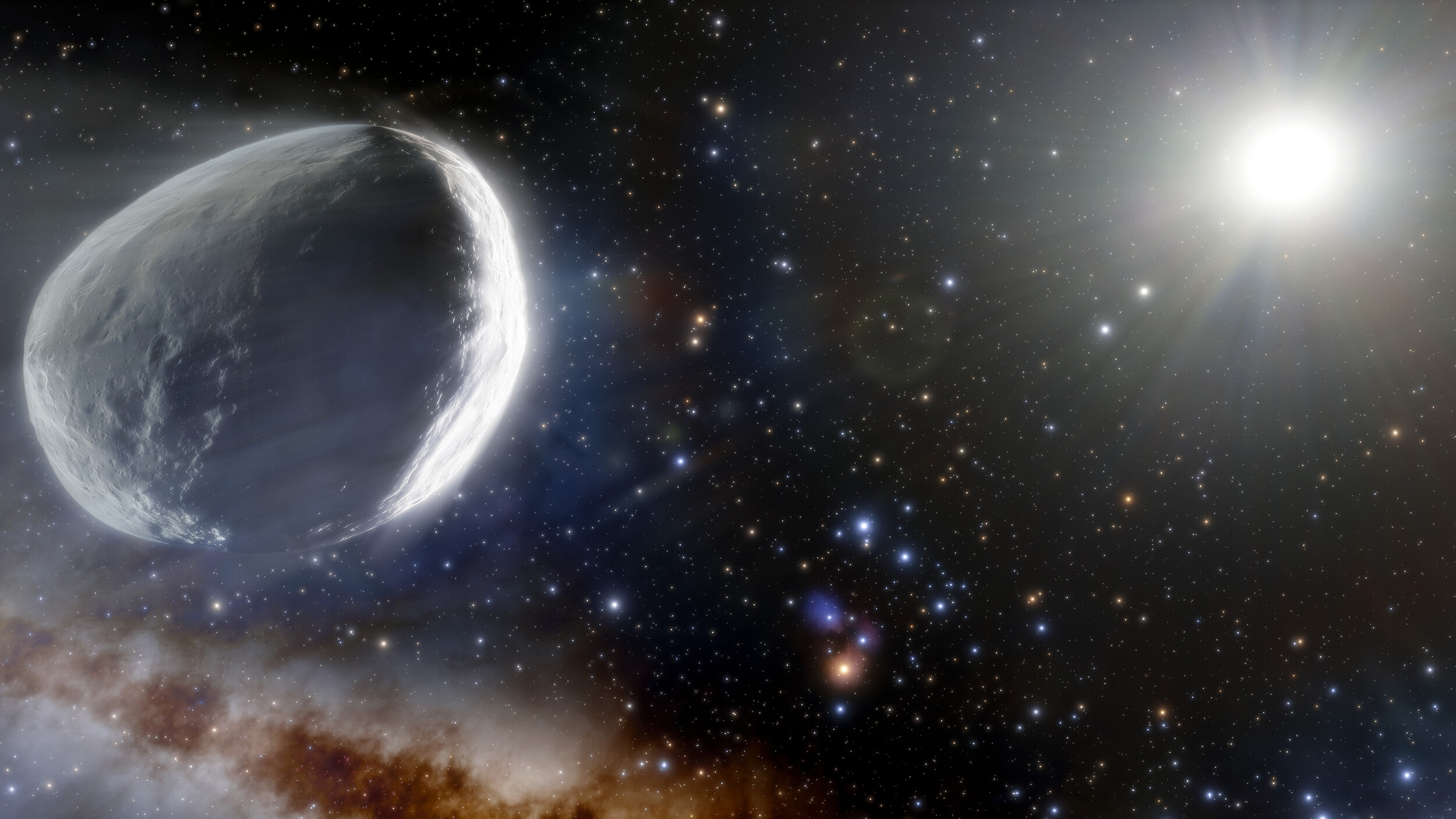 Massive comet discovery dwarfs all others