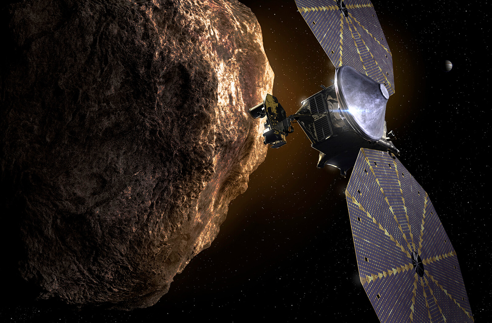 NASA's Lucy mission will observe the earliest 'fossils' of the solar system