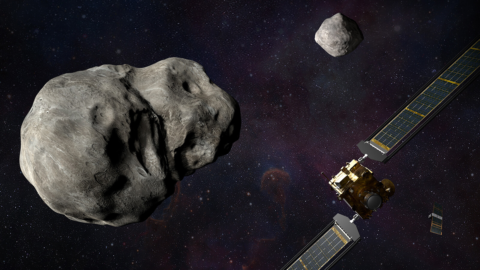 NASA's DART mission will deliberately crash into an asteroid's moon in the name of planetary defense