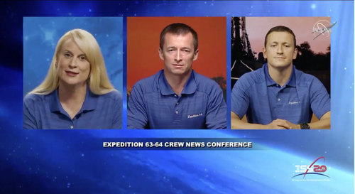 Image for New crew will launch to the International Space Station in October