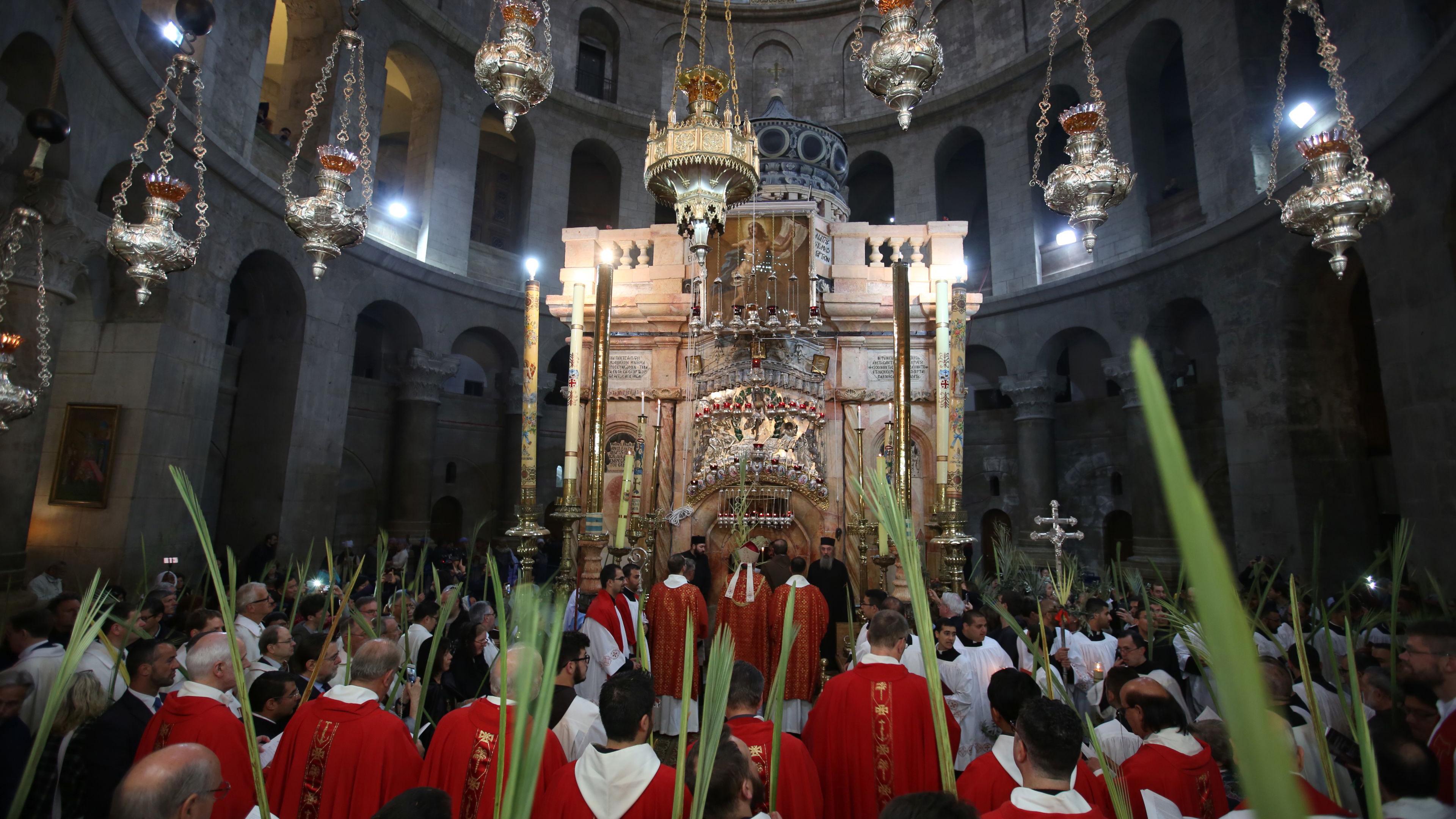 What do Christians celebrate on Palm Sunday?