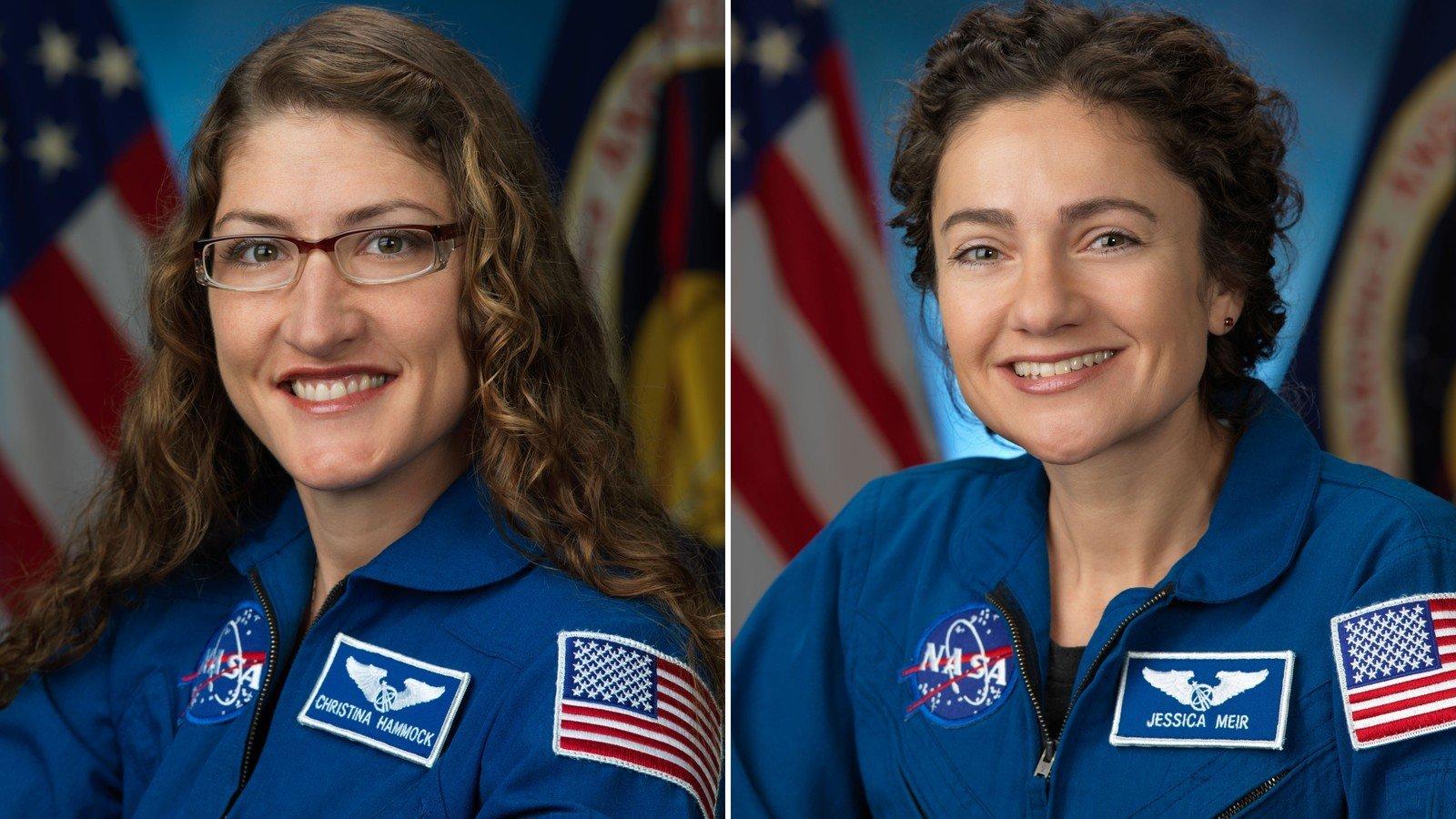 The first all-female spacewalk is underway