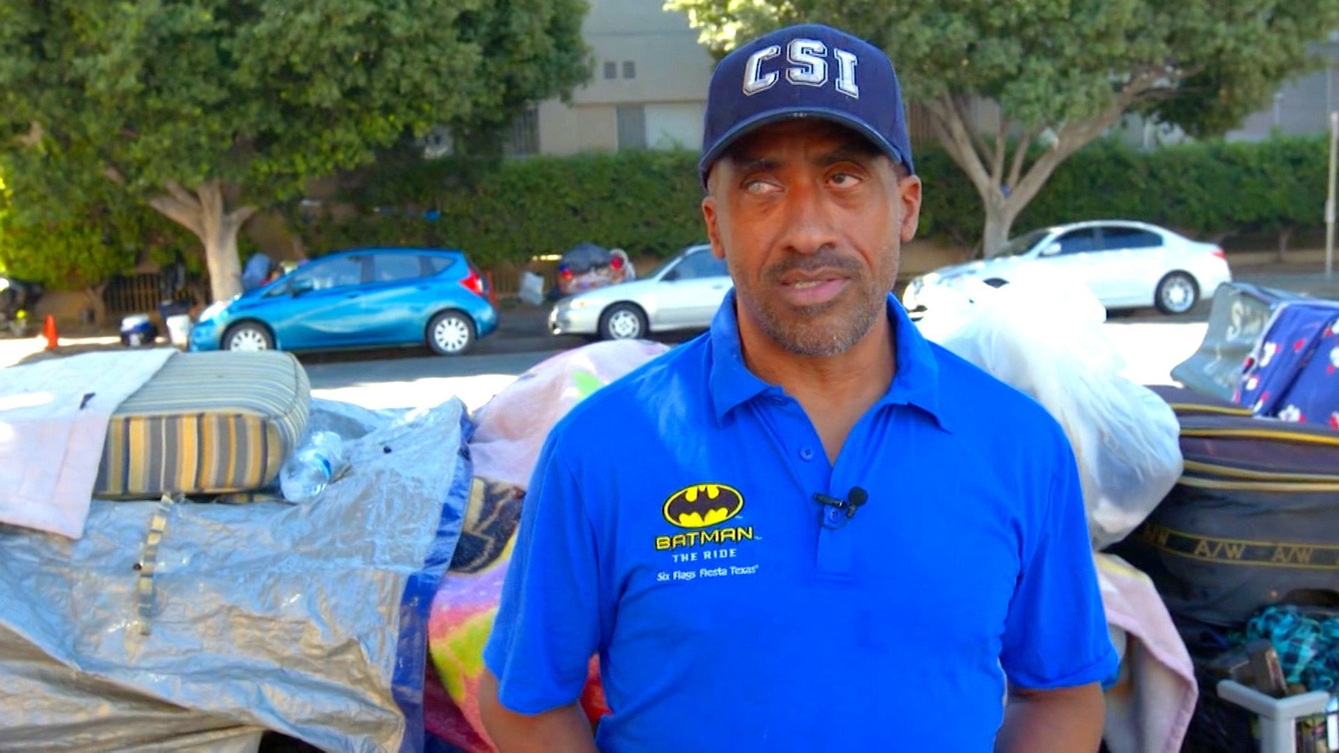 He was a Yale graduate, Wall Street banker and entrepreneur. Today he's homeless in Los Angeles