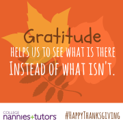 Thanksgiving: Inspiring a Thankful Season