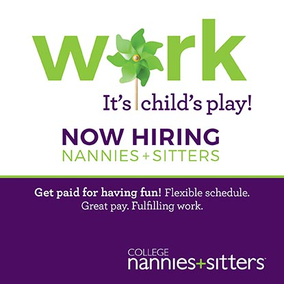Be a part-time Nanny!