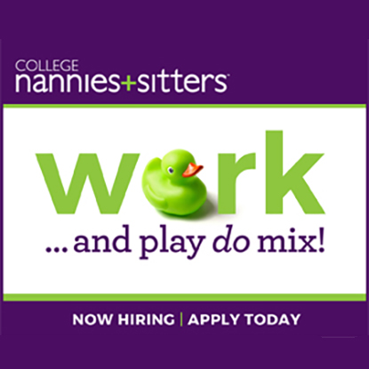Now Hiring Nannies