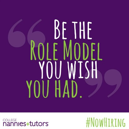 Now Hiring Role Models!