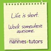 Nannies Needed in Carmel and Indy!