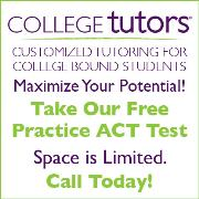 College Tutors Hosting Free ACT Practice Test at Mt. Lebanon High School