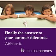 Summer Dilemma? How About a Summer Nanny!