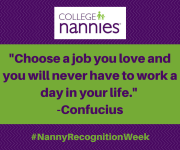 National Nanny Recognition Week 2016