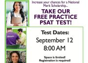 New Albany Students - Free PSAT and National Merit Scholarship Practice