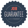 When you complete the Career Change Achievement you're also eligible for our Job Guarantee: We'll help you find a job in your new field within 6 months of graduating - or give you your money back.