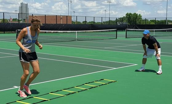 Image result for tennis jumping drills