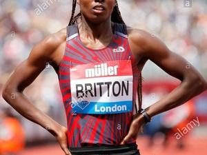 Evonne Britton action photo