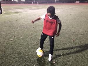 Daniel Montoya action photo