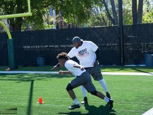 Bryant Turner Jr. action photo
