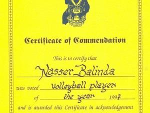 Nasser B. action photo