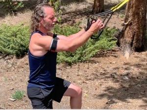 Brian Vickery action photo