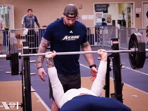 Chad P. action photo