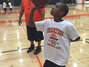 Marcus T. action photo