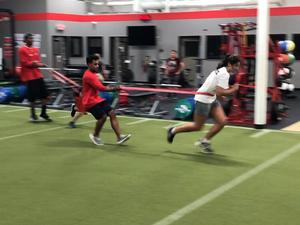 Drew Pitcher action photo