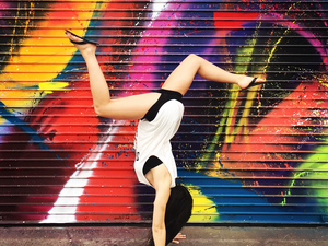 Alyssa L. action photo