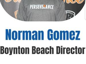 Norman Gomez action photo