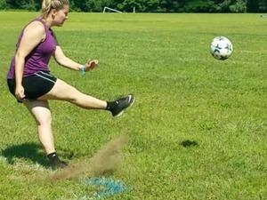 Sarah V. action photo