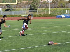 Brandon E. action photo